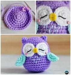 Little Amimigurumi Crochet Owl Free Pattern