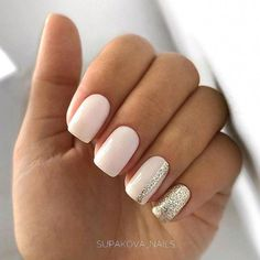 blush nails Business casual nails are that one tiny but essential detail that every busy lady needs to pay attention to. That is why we have made this marvelous compilation that will suit all tastes and styles for sure! Blush Nails, Gold Nails, Gradient Nails, Marble Nails, Silver And Pink Nails, Green Nails, Cute Nail Art, Cute Nails, My Nails