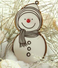 Snowman Cookie & Snowflake/Flower Cookies