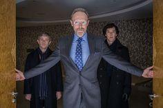 Photo Benedict Cumberbatch, Lars Mikkelsen, Martin Freeman