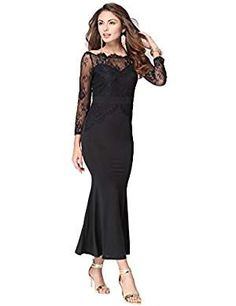 4c3aa4b30ad50 online shopping for Mansy Women's Fashion Floral Lace Evening Party Dress  from top store. See new offer for Mansy Women's Fashion Floral Lace Evening  Party ...