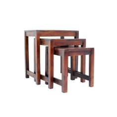 Linon Home Decor Tray Table Set Faux Marble Brown Cool 753793884370 Linon  Home Decor Tray Table