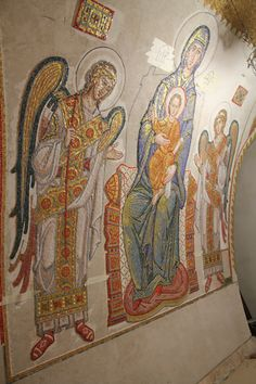 Дивеево нижний храм 2014 год Byzantine Art, Byzantine Icons, Sketchbooks, Style Icons, Vip, Art Decor, Oriental, Wings, Christian