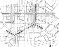 Arata Isozaki, City in the Air IV, Plan, 1962