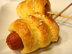 Super Bowl Baked Mini Corn Dogs