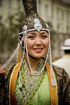 mongolian female models
