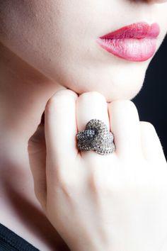 Anello diamanti brown ♡♡♡♡