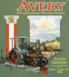 Avery tractor 1919
