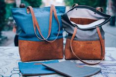 Tragetasche mit Kork-Applikation. Madewell, Babe, Tote Bag, Wallet, Lifestyle, Sewing, Diy, Beauty, Collection