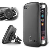 #9: iPhone 7 Case and Car Holder iFace [Duo Series] 2in1 Rugged Protective Hard Case with Magnetic Air Vent Car Mount Kickstand For Apple iPhone 7 (2016) - Gunmetal Gray  Shop for iPhone 6 and 6s cases (http://amzn.to/2bALgTW) unlocked iPhones (http://amzn.to/2bAKkz7) Samsung Galaxy smartphones (http://amzn.to/2bKd1Iy) Prime exclusive phones (http://amzn.to/2bZBTwT) bluetooth headsets (http://amzn.to/2bJd6PO) wireless accessories (http://amzn.to/2cjPALD). affiliate