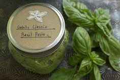 Cubit's Classic Basil Pesto Recipe