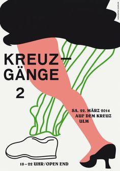 Kreuzgänge 2 Poster — BARBAR — Studio for Graphic Design & Illustration