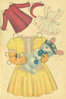 Miss Missy Paper Dolls: Kit Queen Holden