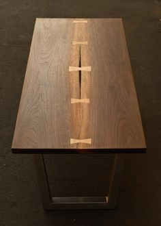 Modern Dovetail Coffee Table by Tyler Smutz, via Behance