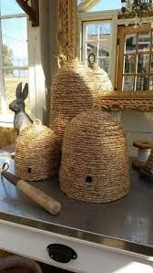 Bee Skep Baskets