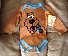 NWT Scooby-Doo 3-D Velvet Long Sleeve Onesie 6-9 Mon. Boy Onsies, Onesies, Scooby Doo Onesie, Baby Boy Outfits, Kids Outfits, Cute Babies, Baby Kids, Toddler Themes, Mommy And Son