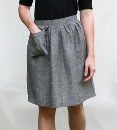 Skirt with Cell Phone Pocket