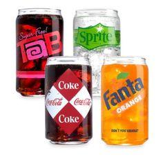 Luminarc® Coca-Cola® 16-Ounce Vintage Can Glasses (Set of 4) - BedBathandBeyond.com