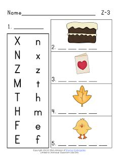 My class is ALMOST done with the whole Alphabet! This week we are covering Zz and next week, we are doing Qq. (Well, really qu.) I am glad to have y and w Abc Phonics, Teaching Phonics, Teaching Kindergarten, Teaching Ideas, Abc Activities, Preschool Songs, Phonics Display, School Items, School Stuff