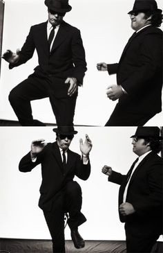 "The Blues Brothers ~1980 American musical comedy film directed by John Landis and starring John Belushi and Dan Aykroyd as ""Joliet"" Jake and Elwood Blues, characters developed from the The Blues Brothers musical sketch on the NBC variety series Saturday Night Live."