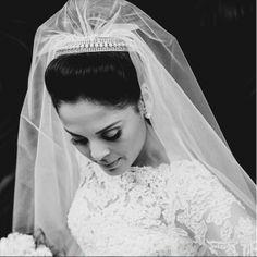 Penteado, maquiagem e grinalda - Inspiração para noivas e madrinhas de casamento