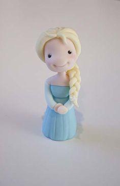 Little Cherry Cake Company | Elsa Figure Tutorial