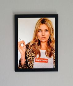 supreme kate moss poster - Google Search