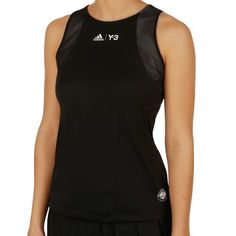 31496a6d802 adidas Roland Garros Y-3 Tank Women black | buy online at Tennis-Point