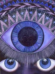 "Chakra number six, the ""third eye"" allows us to see clearly both physically and intuitively. 6 Chakra, Third Eye Chakra, Mantra, Chakra Painting, Reiki, Tarot, 3rd Eye, All Poster, Posters"