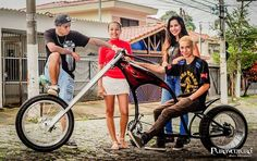 Bicycle Types, Motorised Bike, Cruiser Bicycle, Chopper Bike, Bicycle Design, Cycling Bikes, Kustom, Custom Bikes, Cool Bikes
