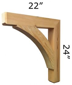 Cedar Brackets Corbels And Gables Flower Pot People