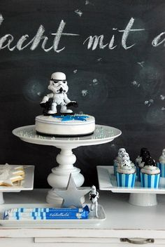 Star Wars themed birthday party - Karas Party Ideas - The Place for All Things Party. KarasPartyIdeas.com