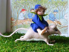 Bessenjongen op rennende muis