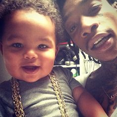 Wiz with his son