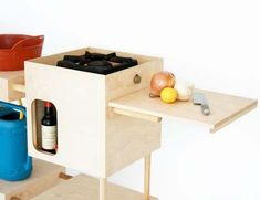 Build your own mini mobile camping kitchen!