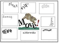 animal verbs Joyful Learning In KC: Animal Action~Verb lessons Kindergarten Language Arts, Kindergarten Science, Classroom Language, Primary Science, Teaching Verbs, Teaching Writing, Teaching Ideas, Word Study Activities, School Fun