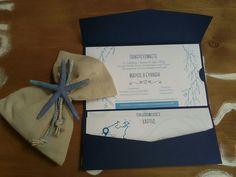 Πρόταση για #προσκλητήριο & #μπομπονιέρα γάμου! #θαλασσινο