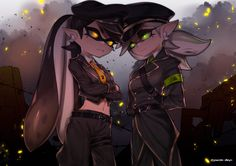 See more 'Splatoon' images on Know Your Meme! Splatoon Memes, Nintendo Splatoon, Splatoon 2 Art, Splatoon Comics, Splatoon Squid Sisters, Emo, Badass, Sisters Images, Callie And Marie
