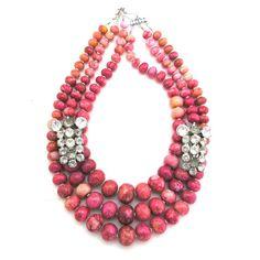 Benevolent Beauty necklace by Elva Fields