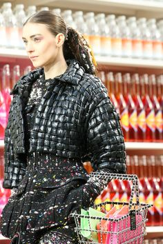 The best kind of basket is full of Chanel (via Chanel Fall 2014 Ready-to-Wear )