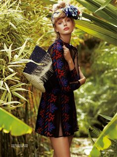 Frida Gustavsson Heads to the Tropics for C Magazine | Photographed by Hilary Walsh. Frida, my current favourite model! This girl can do no wrong..