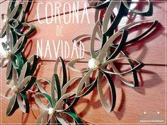 Las Creaciones de Bea y Natalia: Corona navideña diogenera