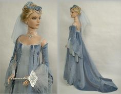 Enchanted Serenity of Period Films: Crawford Manor - Custom made Dolls ~ Guinevere (from King Arthur)