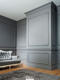 Ideas wall paneling ideas wainscoting dining rooms for 2019 Classic Decor, Classic Interior, Living Room Paint, Living Room Decor, Dining Room Wainscoting, Dining Room Paneling, Painted Wainscoting, Orac Decor, Wainscoting Styles