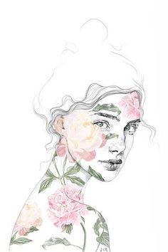 Jenny Liz Rome art print - Botanical #1 (various sizes)