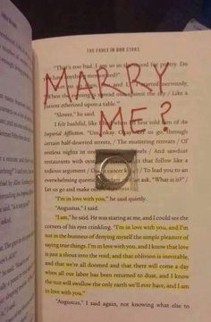 Funny pictures about This Could Be The Sweetest Or The Most Bitter Marriage Proposal. Oh, and cool pics about This Could Be The Sweetest Or The Most Bitter Marriage Proposal. Also, This Could Be The Sweetest Or The Most Bitter Marriage Proposal photos. Cute Relationship Goals, Cute Relationships, Relationship Quotes, Marriage Proposals, The Fault In Our Stars, Book Nerd, Cute Quotes, Love Book, Book Quotes