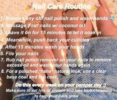 Excellent beauty hacks tips are readily available on our web pages. Check it out and you will not be sorry you did. Nail Care Routine, Nail Care Tips, Nail Growth Tips, Face Routine, Coconut Oil Massage, Sephora, Beauty Hacks Nails, Nail Hacks, Glow Up Tips