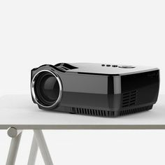 GP70 LCD Portable LED Projector Compatible 1080P Full HD 1200 Lumens HDMI USB Home Theater Beamer Sale - Banggood.com