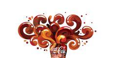 Coca Cola digital mural on Behance
