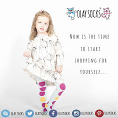 - Now is the time to start shopping for yourself..  #now #is #the #time #to #start #shopping #for #yourself #olaysocks #olaytights #socks #tights #quality #cotton #bamboo #micro #modal #viscos #organic #babysocks #kidssocks #newbornsocks #brand #makehappy #happysocks #shoppingtime #summer   www.olaysocks.com